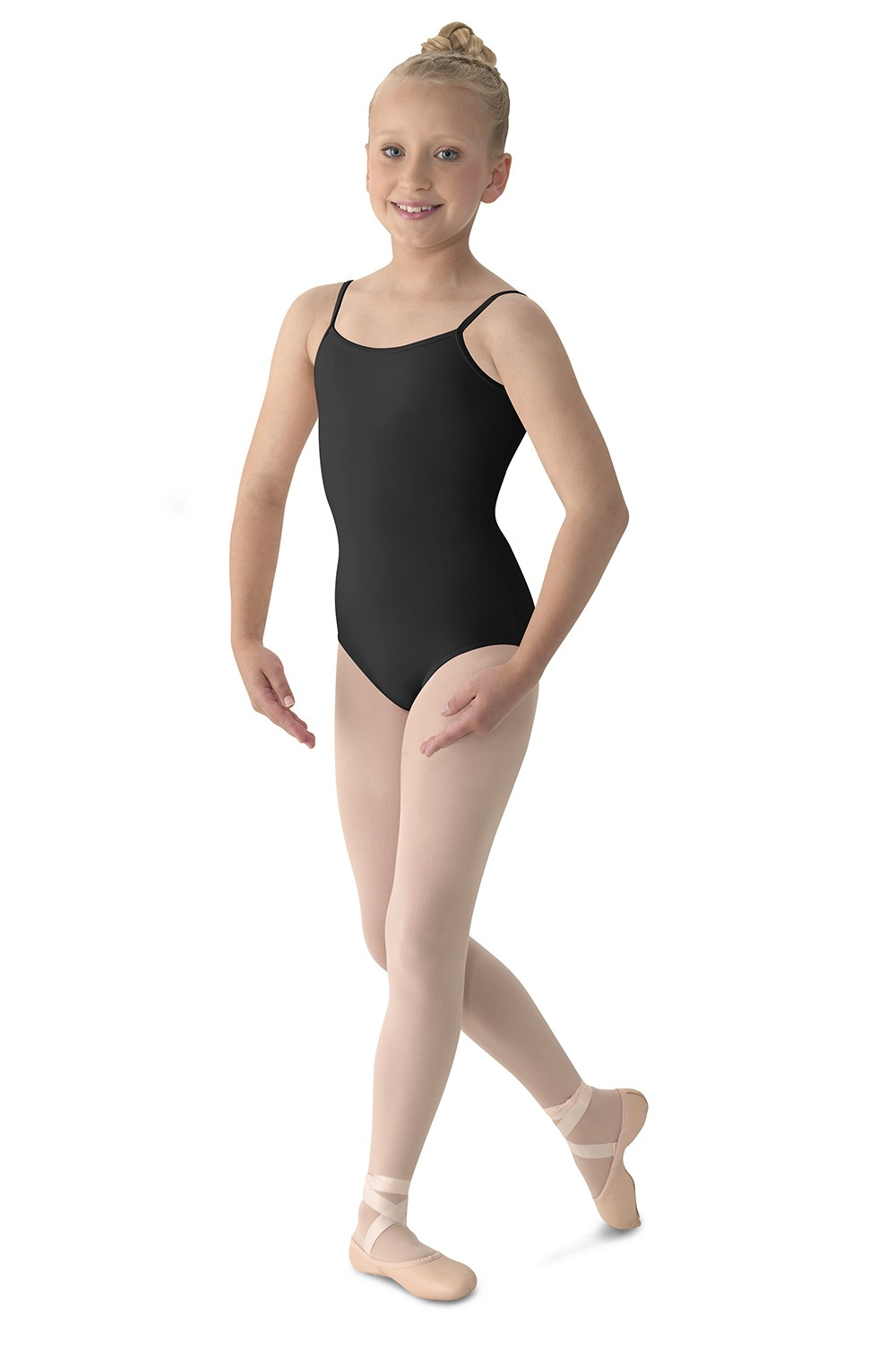 Body Clássico De Alças Finas  Children's Dance Leotards