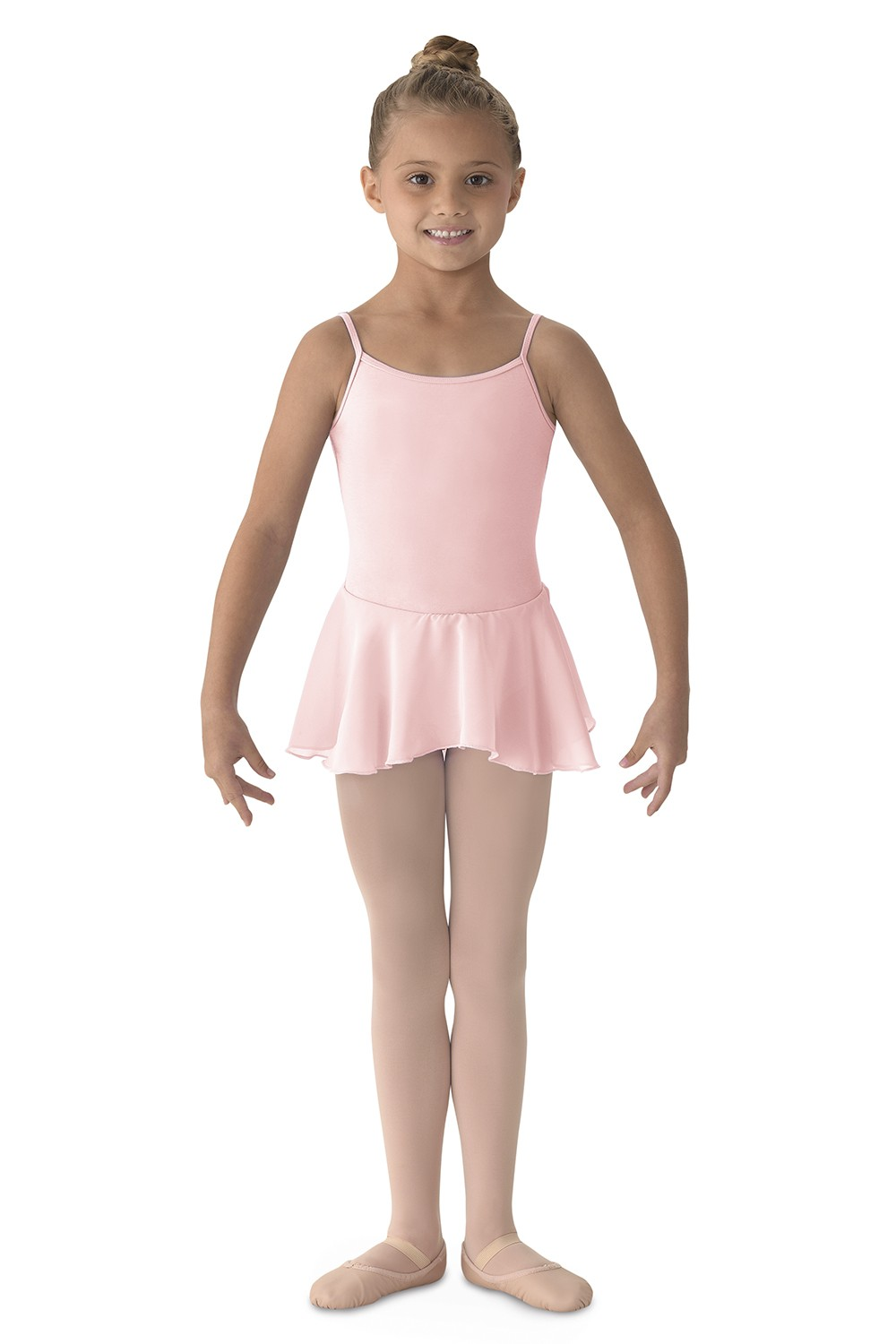 Camisole Dress W/skirt Children's Dance Leotards