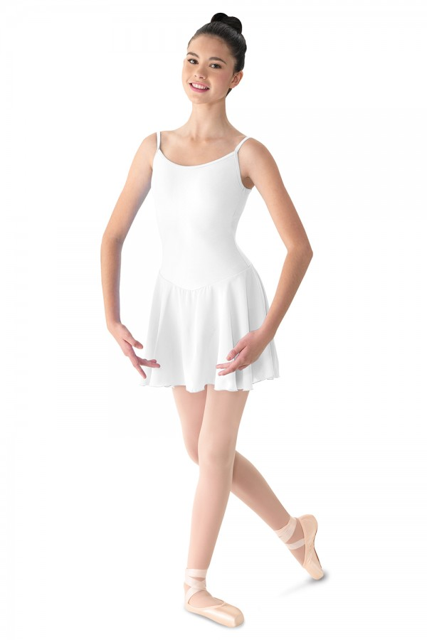 image - Camisole Dress W/skirt Women's Dance Leotards