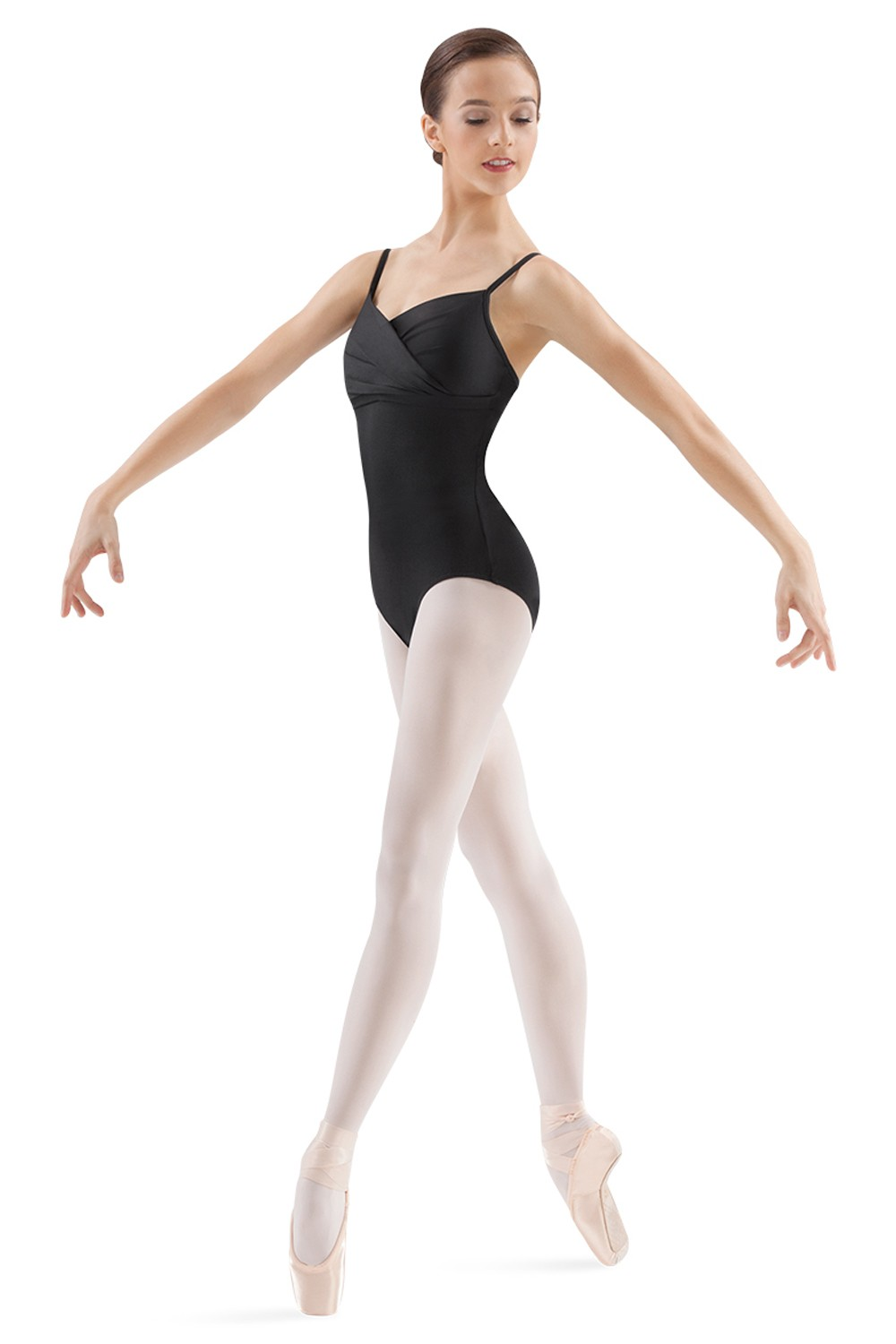 Pleat Front Camisole Leotard Women's Dance Leotards