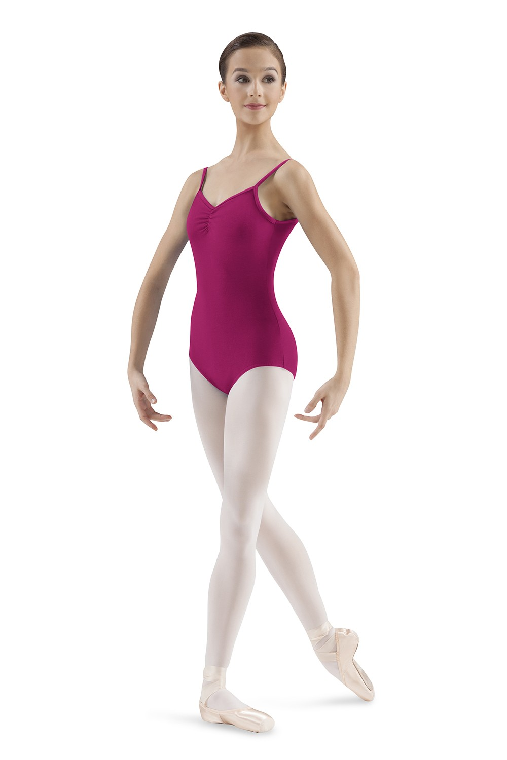 Body A Spallina Sottile Con Scollo A V Women's Dance Leotards