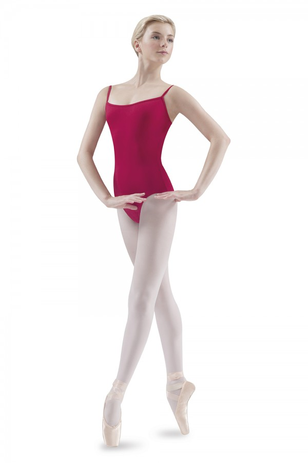 image - Vee Back Camisole Leotard Women's Dance Leotards