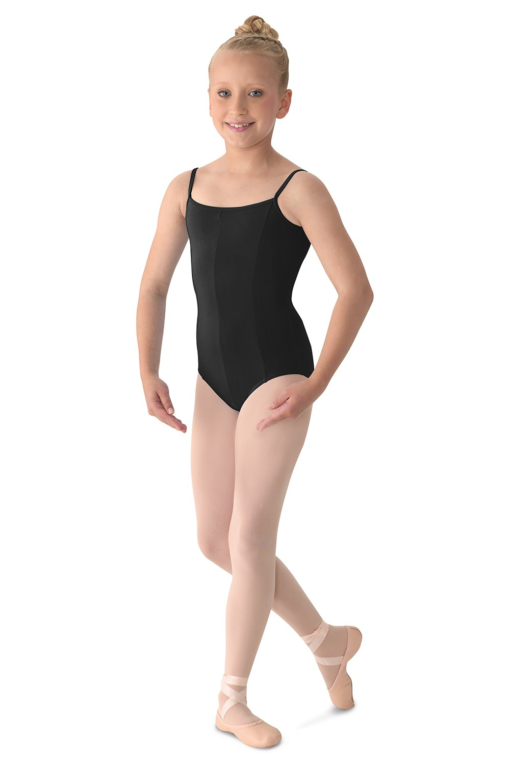 Justaucorps Princesse À Bretelles Fines Girls Camisole Leotards