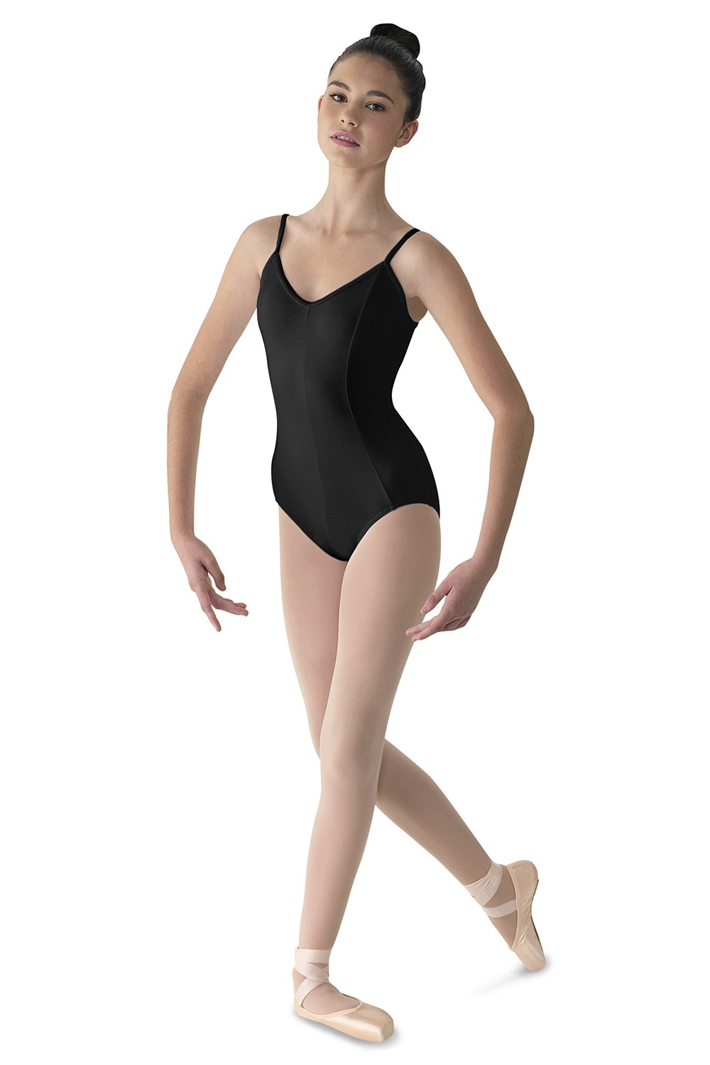 Body Con Scollo A V E Cuciture Principessa Women's Dance Leotards
