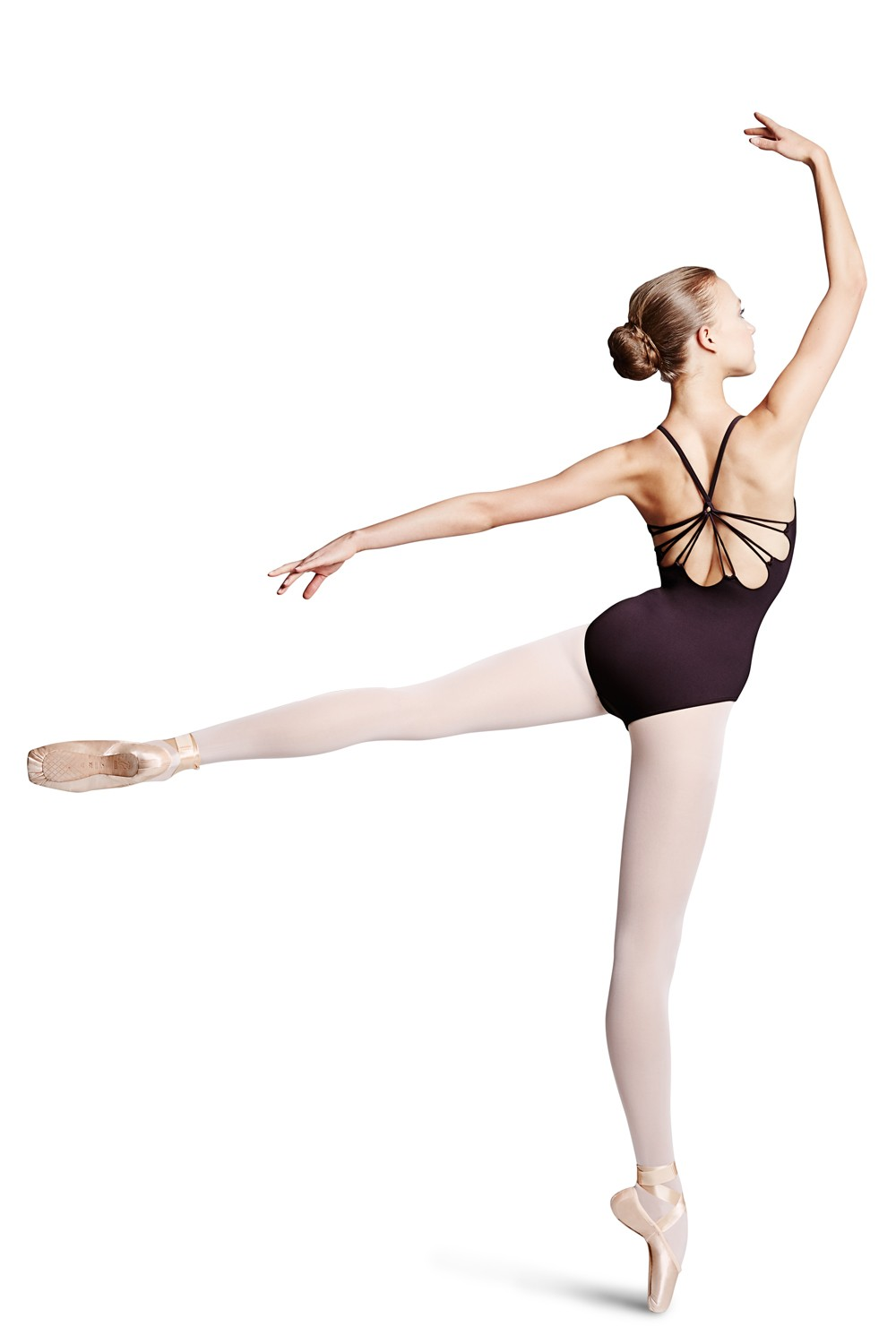 Mirella Rouleaux Loop Twist Back Camisole Leotard Women's Dance Leotards
