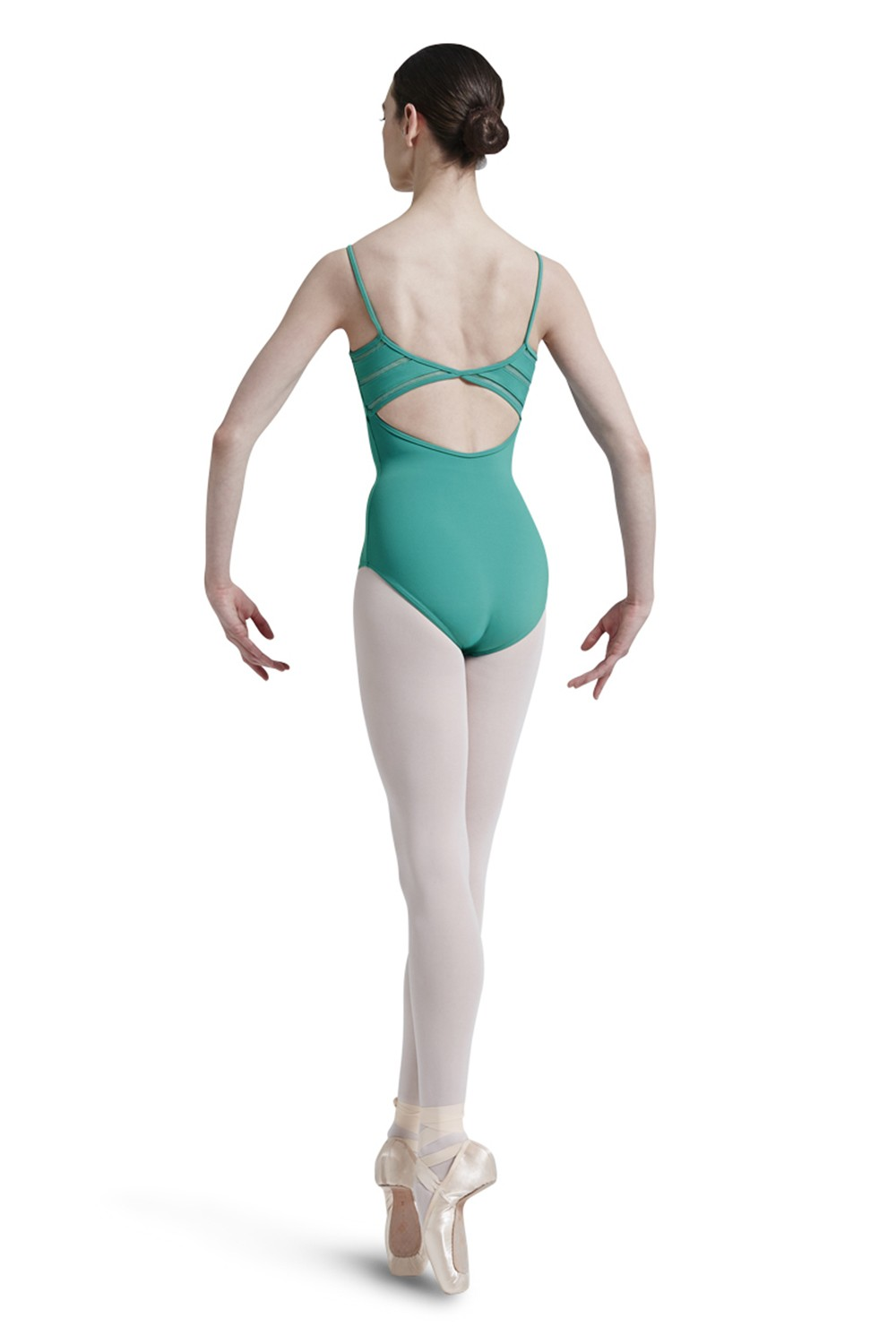 Body A Spallina Sottile Con Retro A Reticolo Women's Dance Leotards