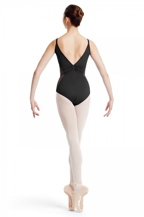 image - MIRELLA Mesh Side Leotard Women's Dance Leotards