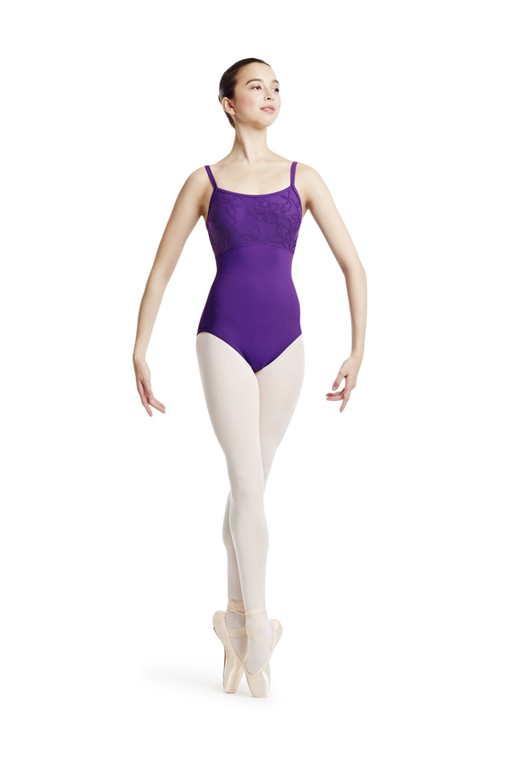 Mirella Wide Strap Leotard Women's Dance Leotards