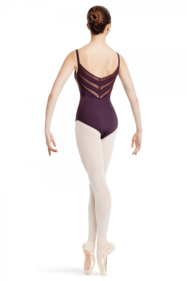 image - Chevron Back Camisole Leotard Women's Dance Leotards