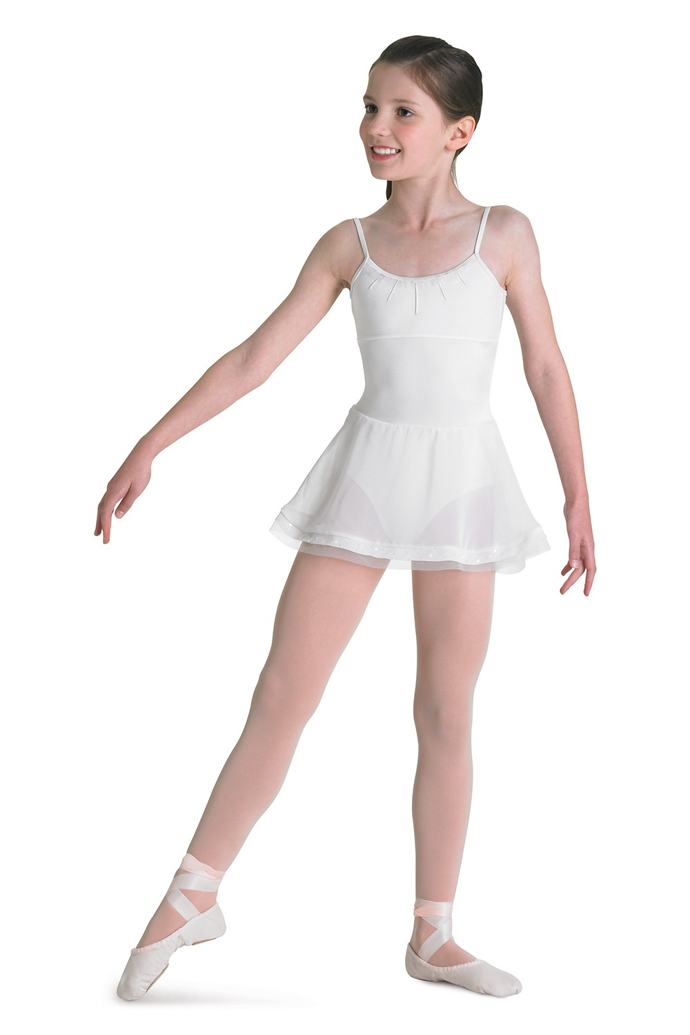 Cami Leo With 3 Tier Skirt Children's Dance Leotards