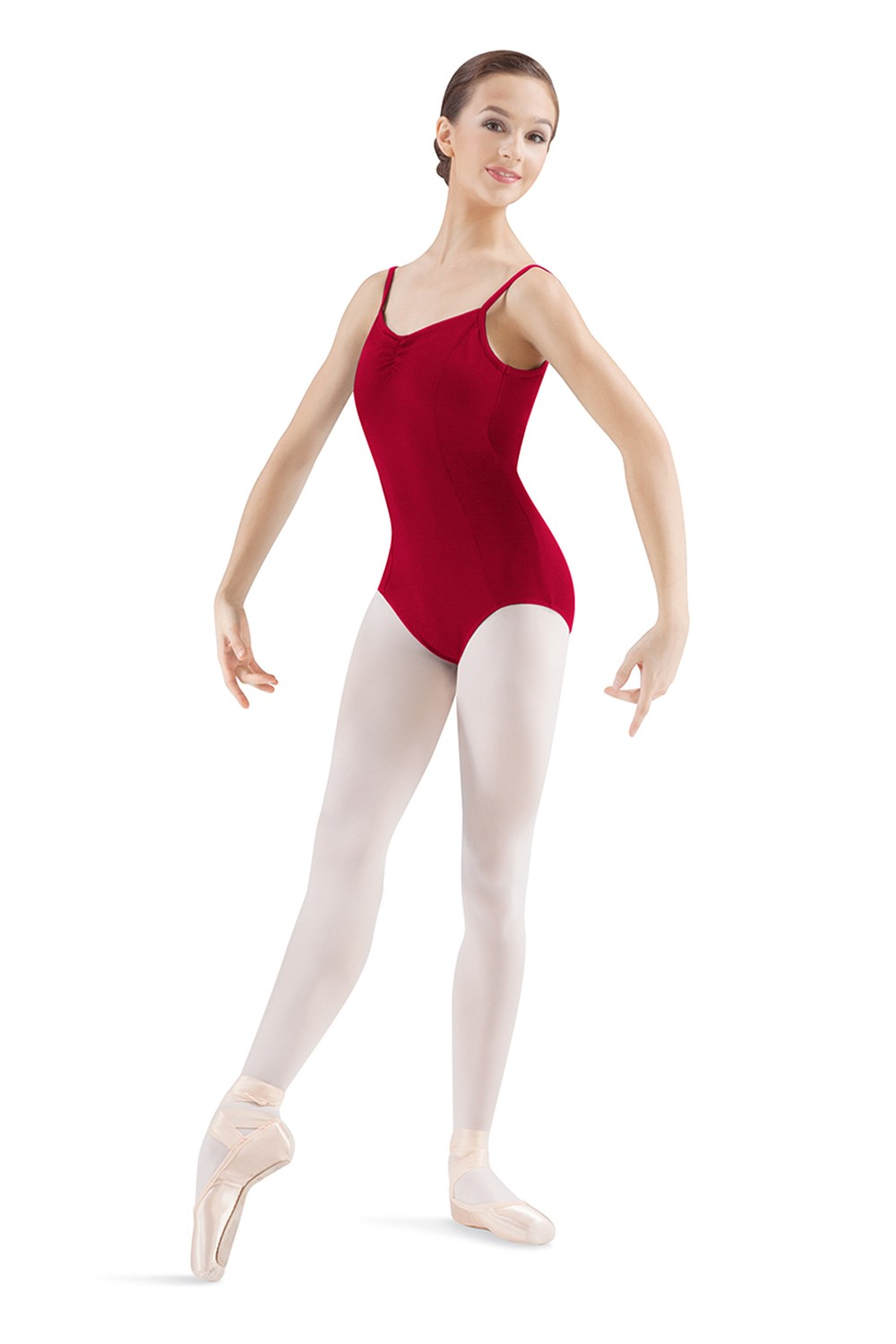 Pinch Front Seamed Camisole Leotard Women's Dance Leotards