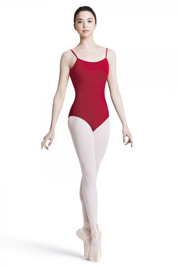 image - Scoop Back Camisole Leotard Women's Dance Leotards