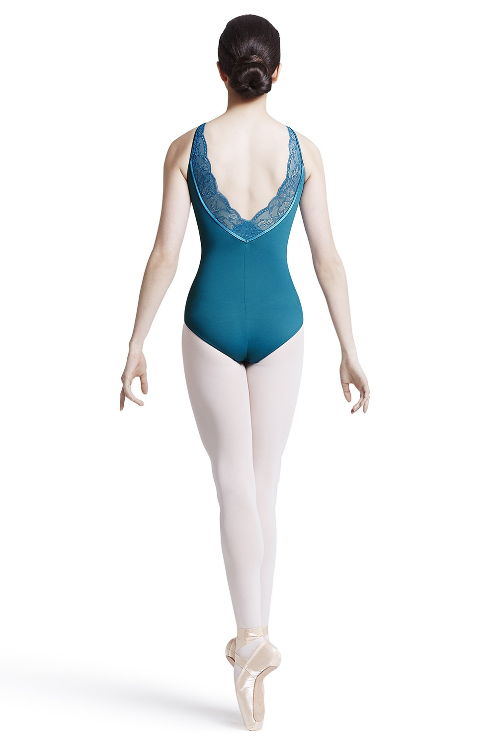 Body A Spalline Sottili Con Scollo Profondo Sul Retro Women's Dance Leotards