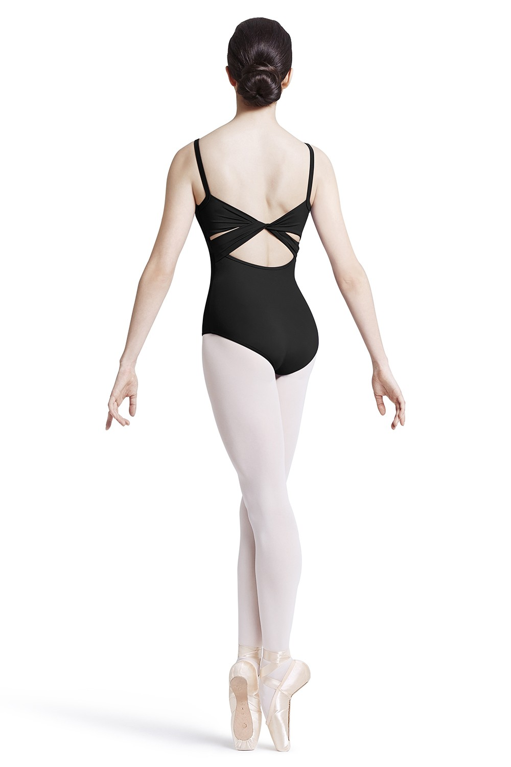 Body A Spalline Sottili Con Retro Ritorto Women's Dance Leotards