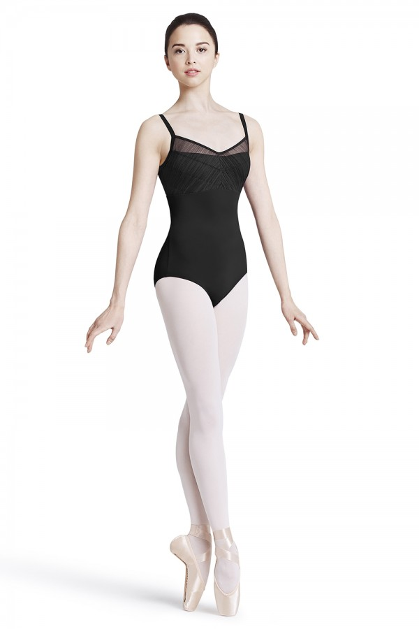image - Twist back camisole leotard Women's Dance Leotards