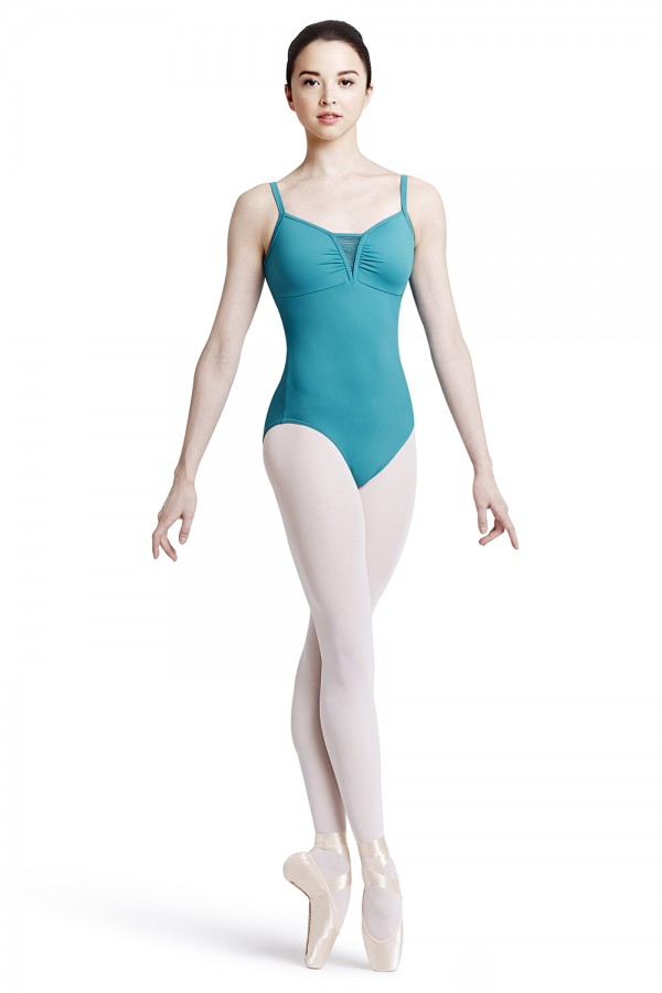 image - V front camisole leotard Women's Dance Leotards