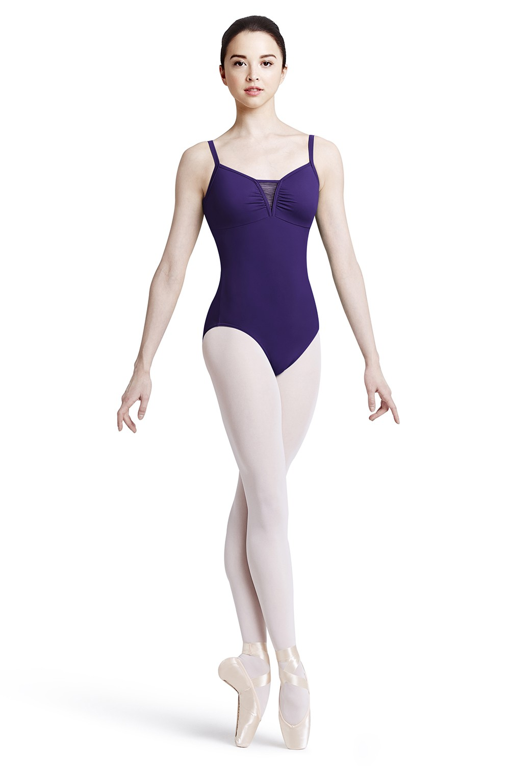 Body A Spalline Sottili Con Scollo A V Women's Dance Leotards