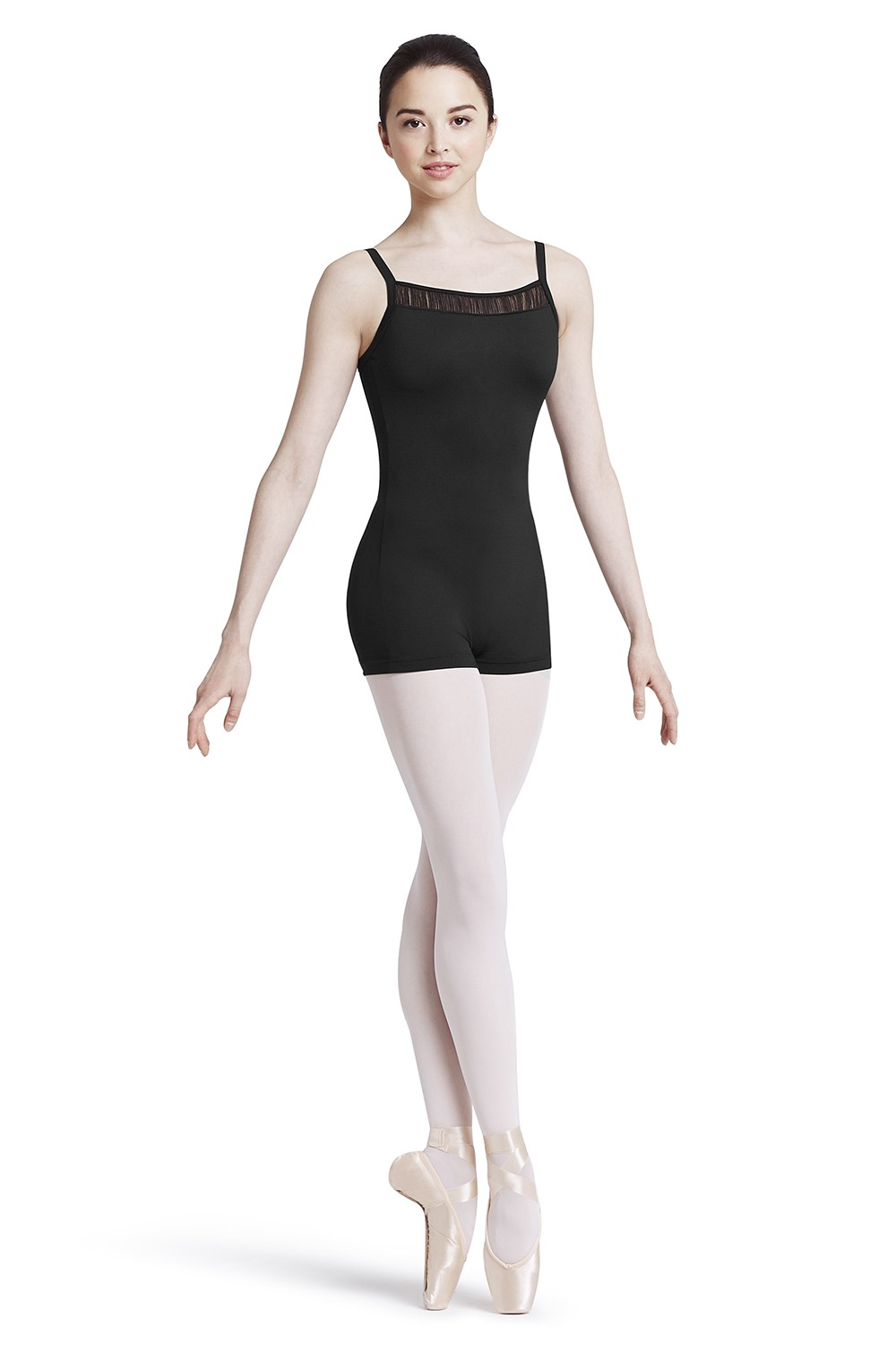 Wide Strap Camisole Unitard Women's Dance Leotards