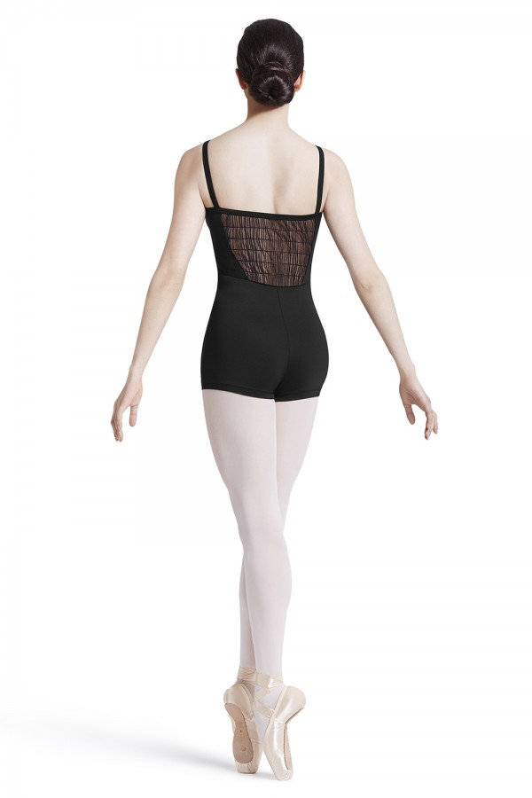 image - Wide Strap Camisole Unitard Women's Dance Leotards