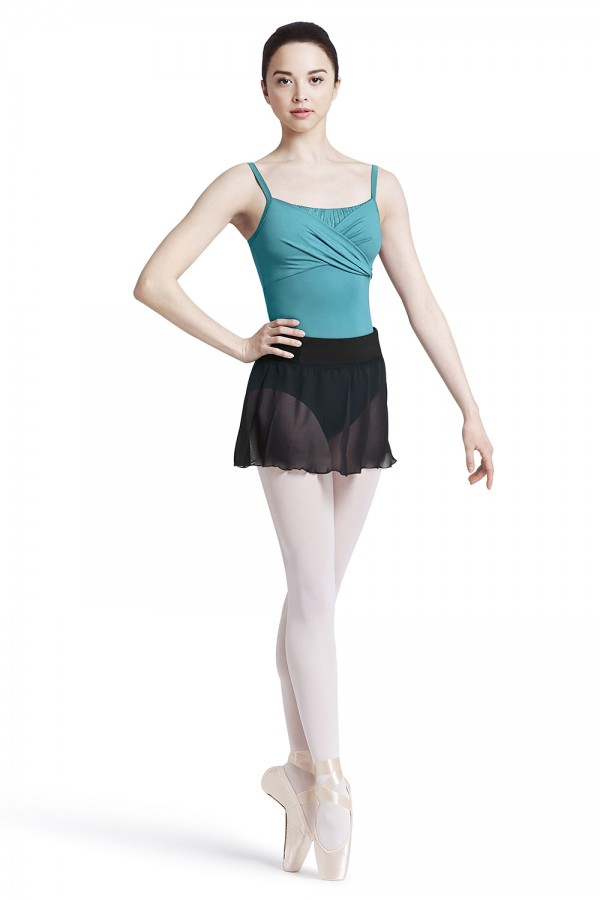 image - Overlap camisole leotard Women's Dance Leotards