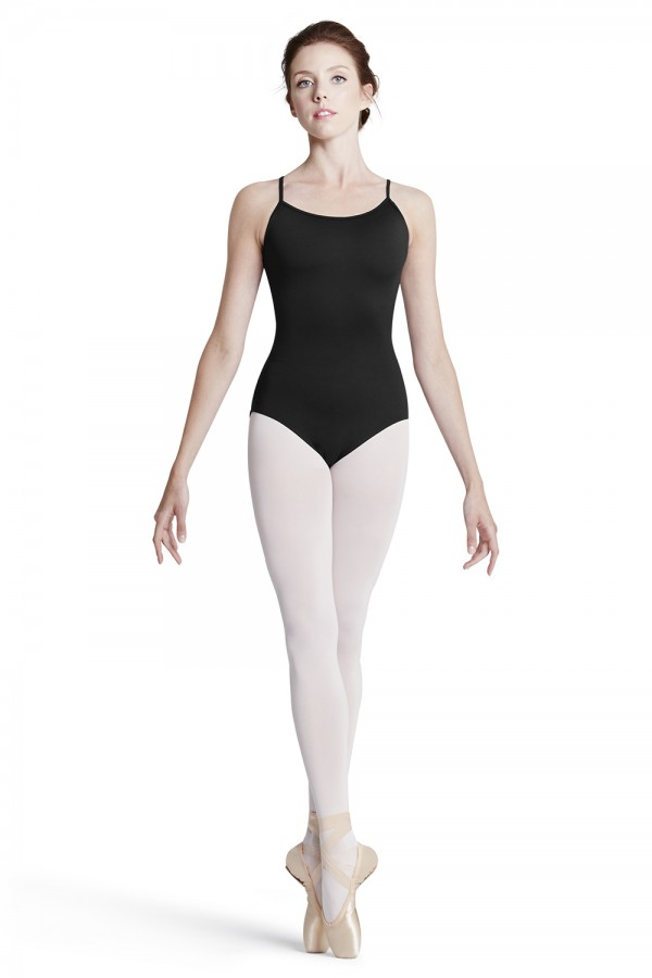 image - Stripe Lace Cami Leo Women's Dance Leotards