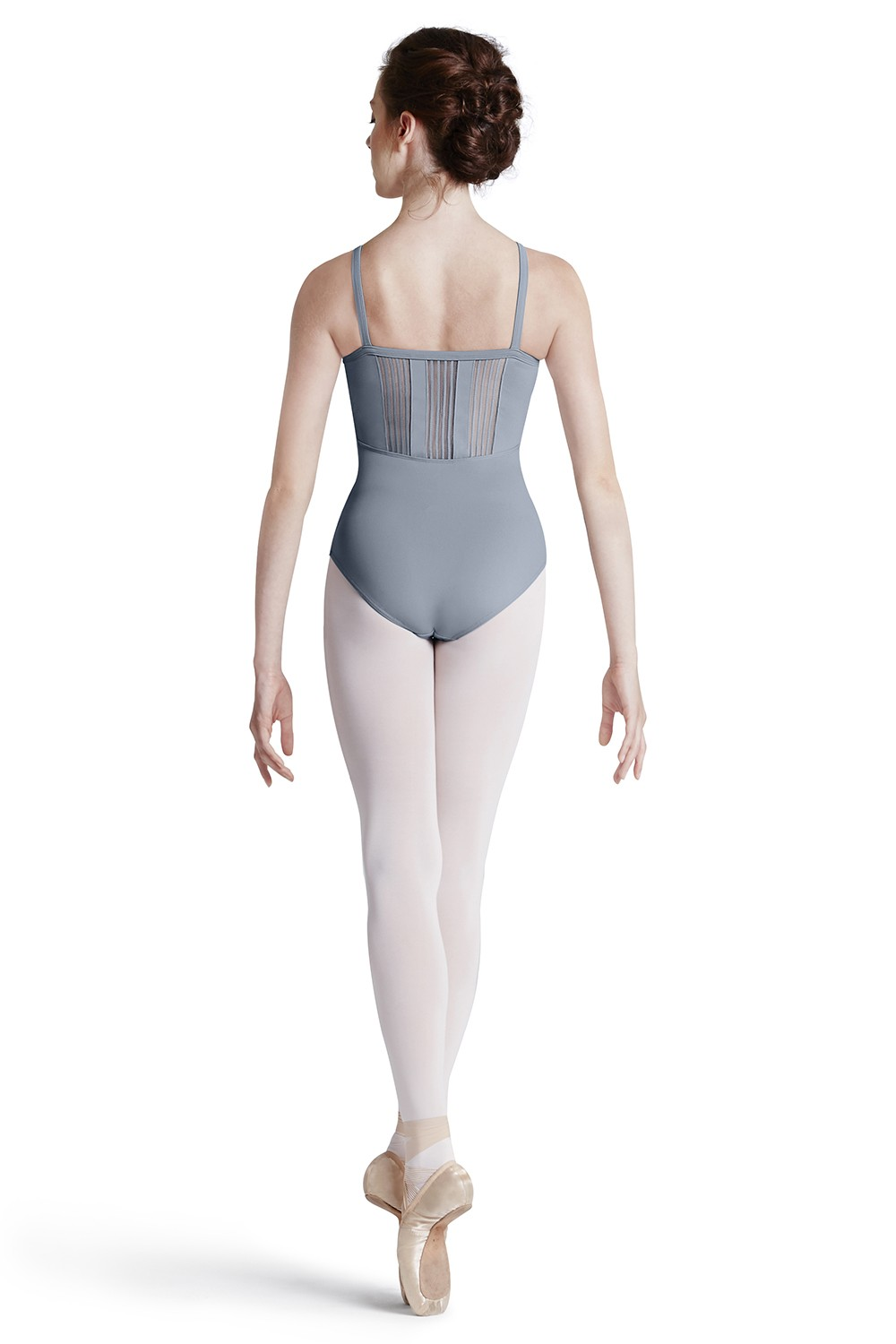 Body A Spallina Sottile Con Pannelli Sul Retro Women's Dance Leotards