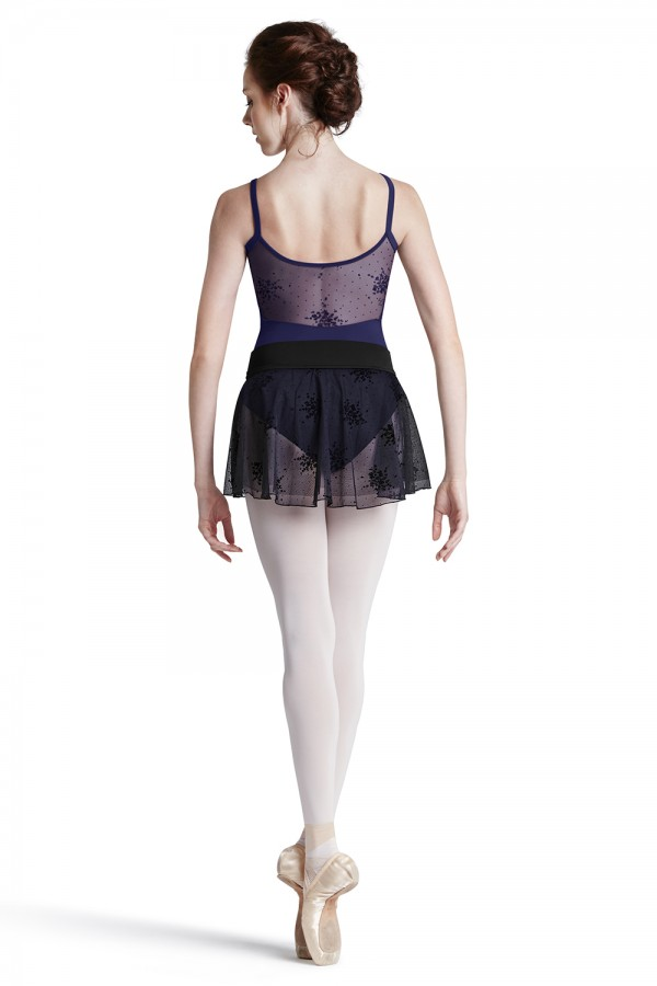image - Floral Flk Yoke Leo Women's Dance Leotards