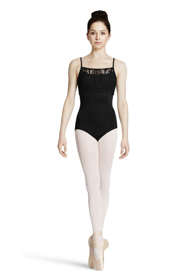 image - Peacock Plume Bust Camisole Leotard Women's Dance Leotards
