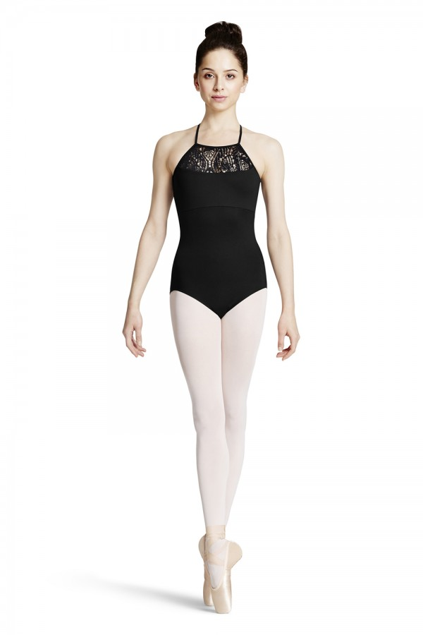 image - Cross Back Camisole Leotard Women's Dance Leotards