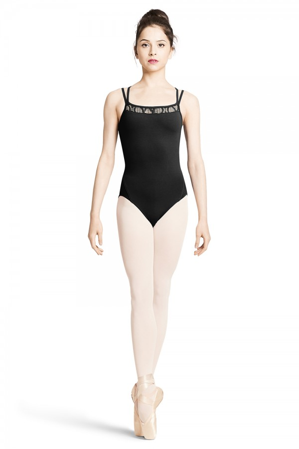 image - Twin Strap Camisole Leotard Women's Dance Leotards
