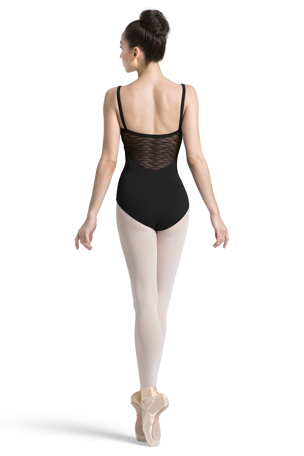 Wave Mesh Camisole Leotard Women's Dance Leotards