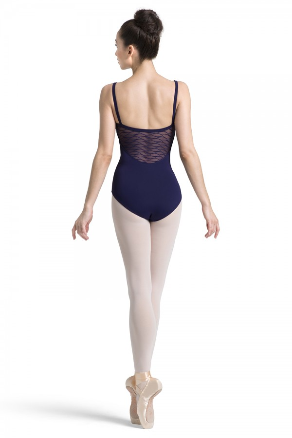 image - Wave Mesh Camisole Leotard Women's Dance Leotards
