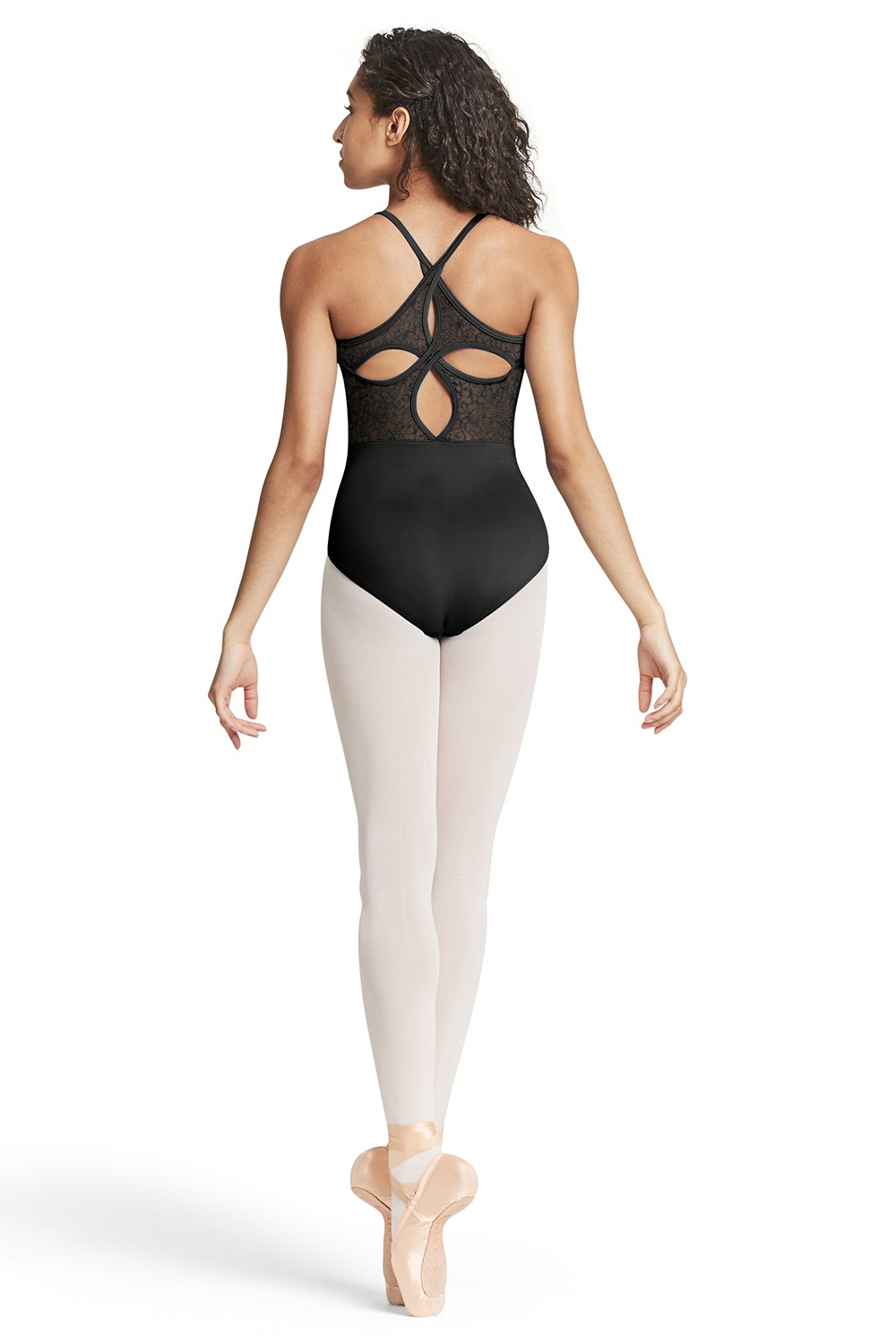 Open Keyhole Back Camisole Leotard Women's Dance Leotards