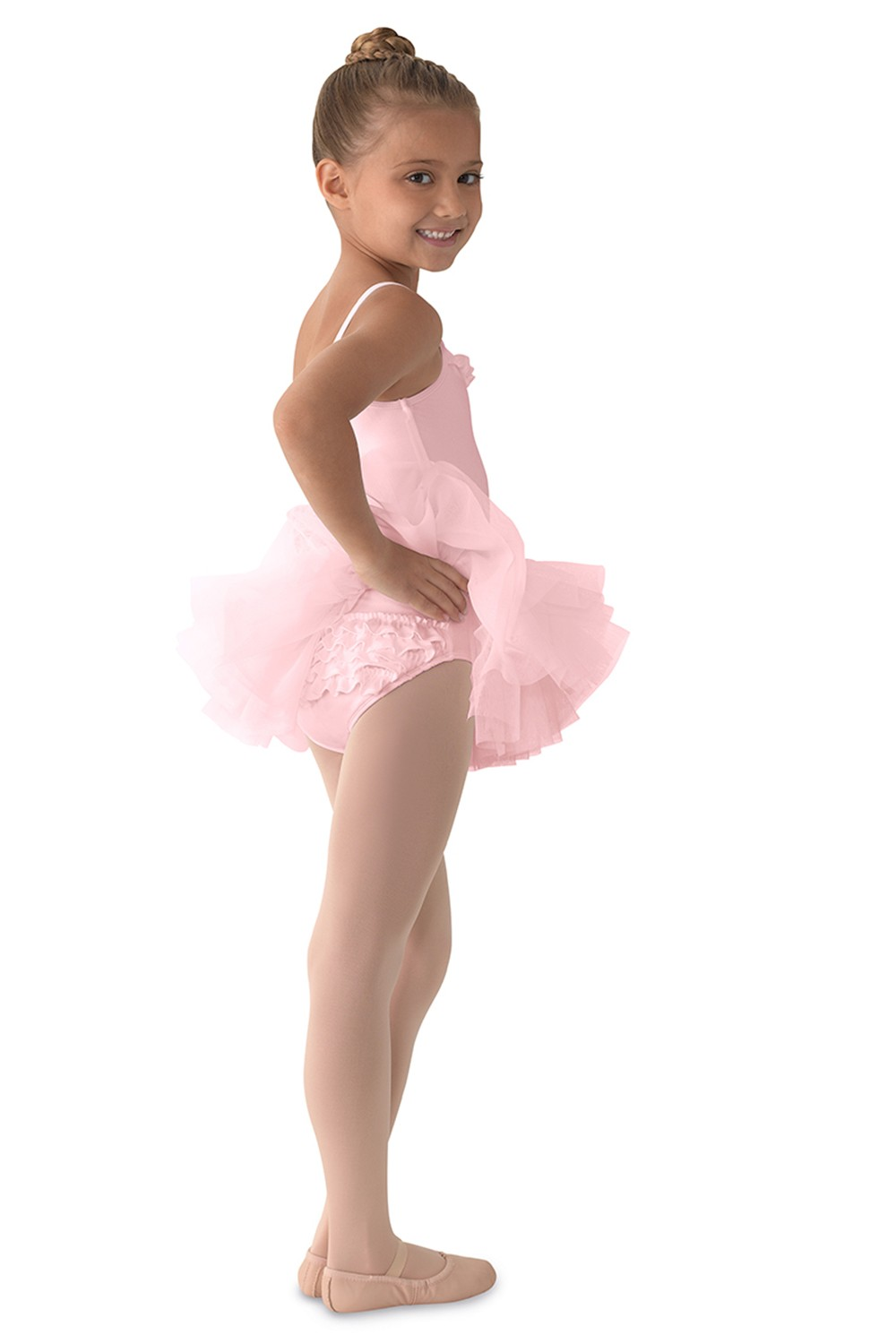 Ruffle Camisole Tutu Children's Dance Leotards