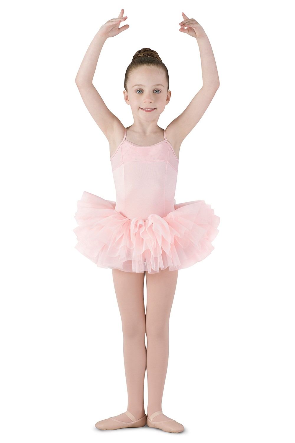 Corset Back Tutu Dress Children's Dance Leotards