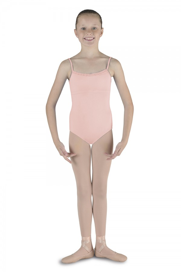 image - Cross Over Back Camisole Children's Dance Leotards