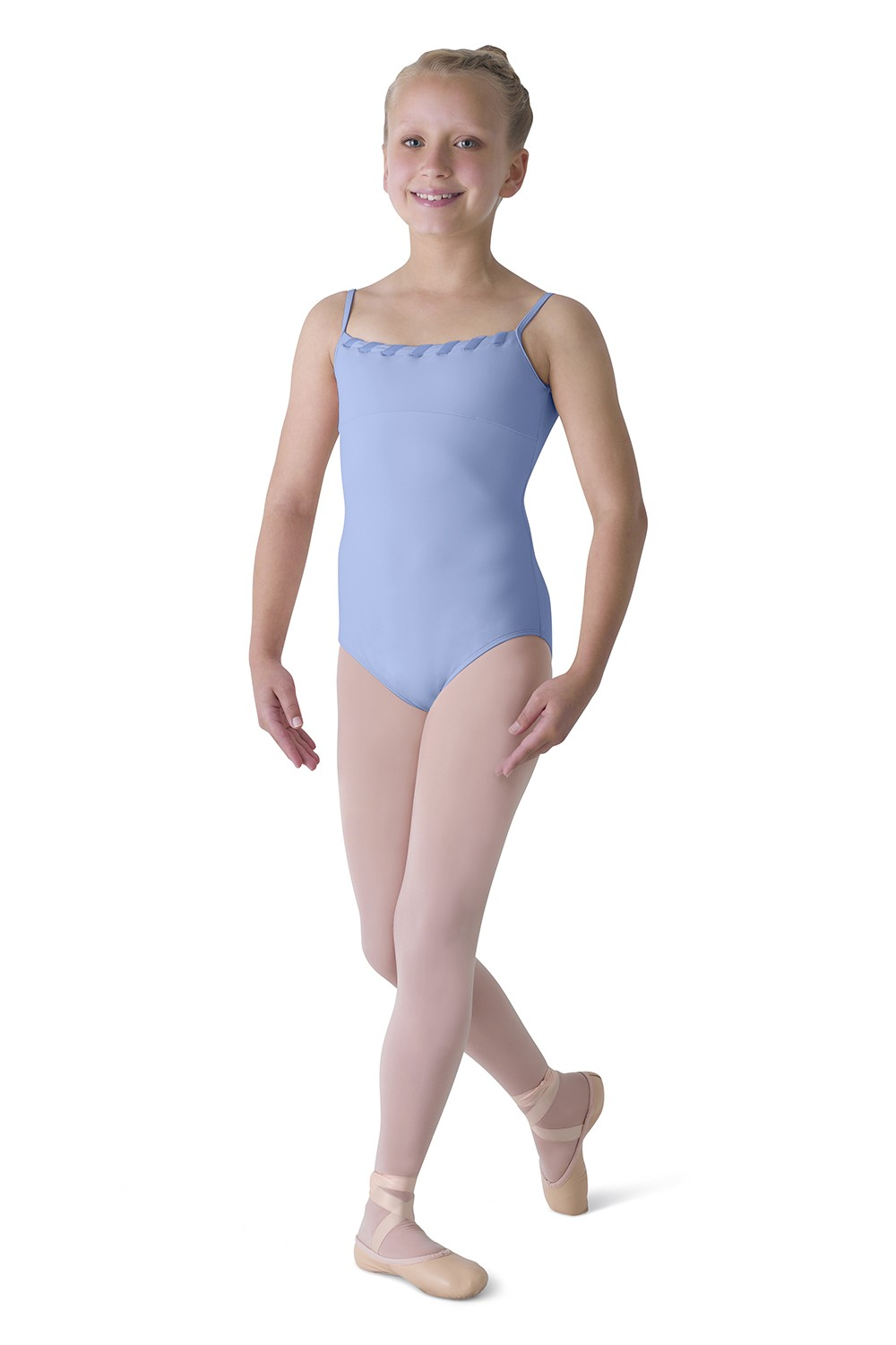 Velvet Ribbon Cami Leo Children's Dance Leotards