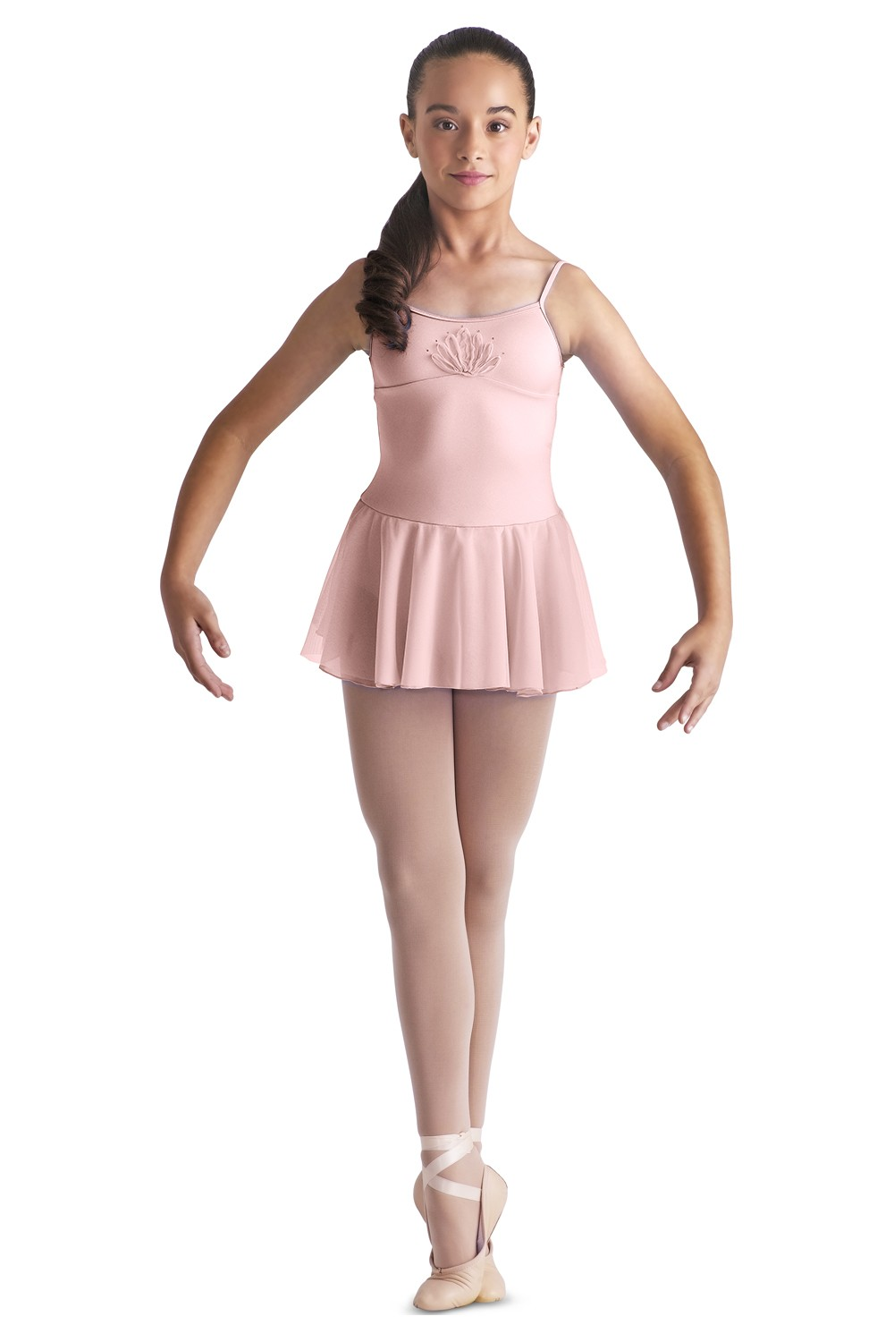 Ribbon Skirt Dress Children's Dance Leotards