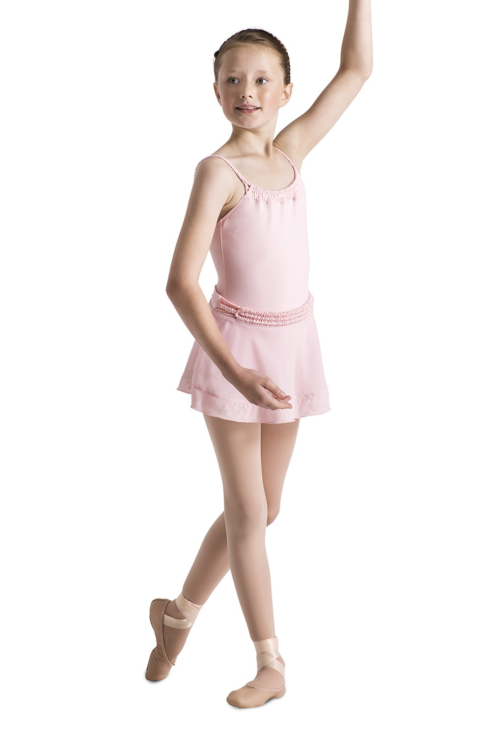 Plait Neckline Camisole Children's Dance Leotards