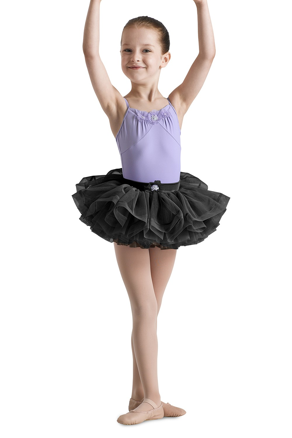 Yoke Front Camisole Leotard Children's Dance Leotards
