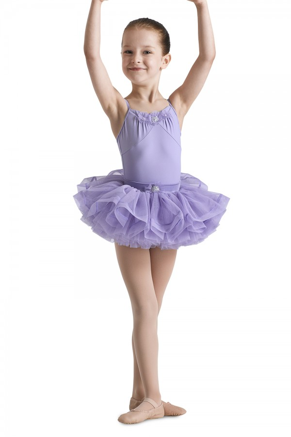 image - Yoke Front Camisole Leotard Children's Dance Leotards