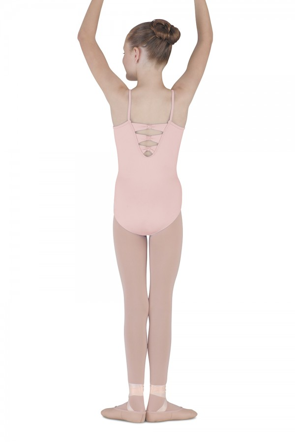 image - 3 Bow Back Camisole Leotard Children's Dance Leotards