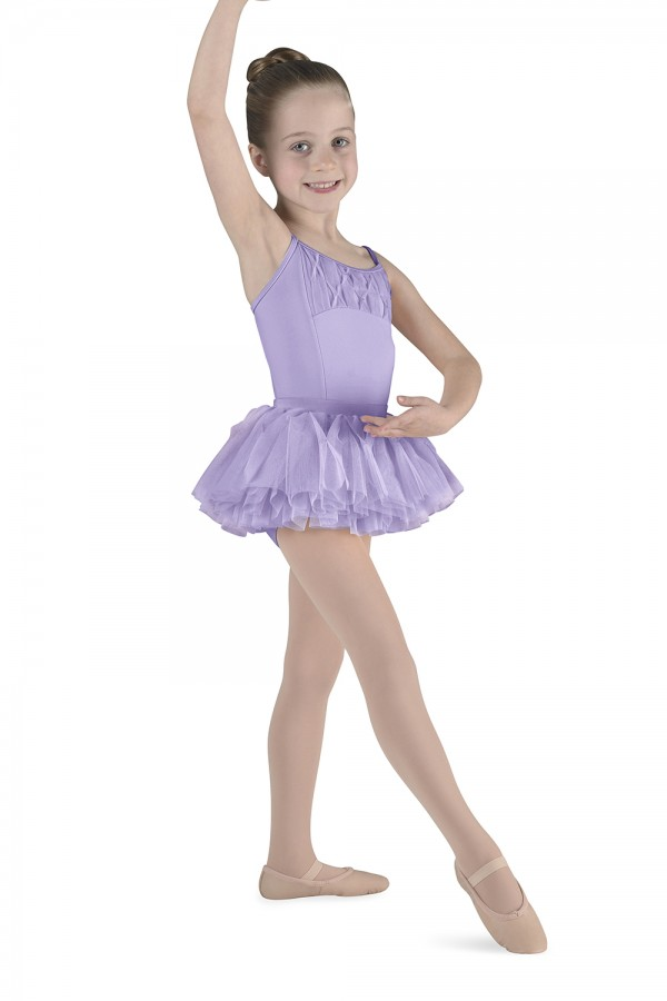 Beaded Camisole Leotard Girls Skirted Leotards