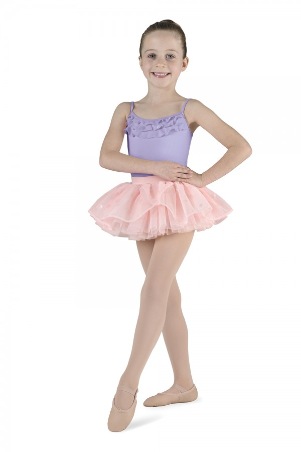image - Bow Back Camisole Leotard Children's Dance Leotards
