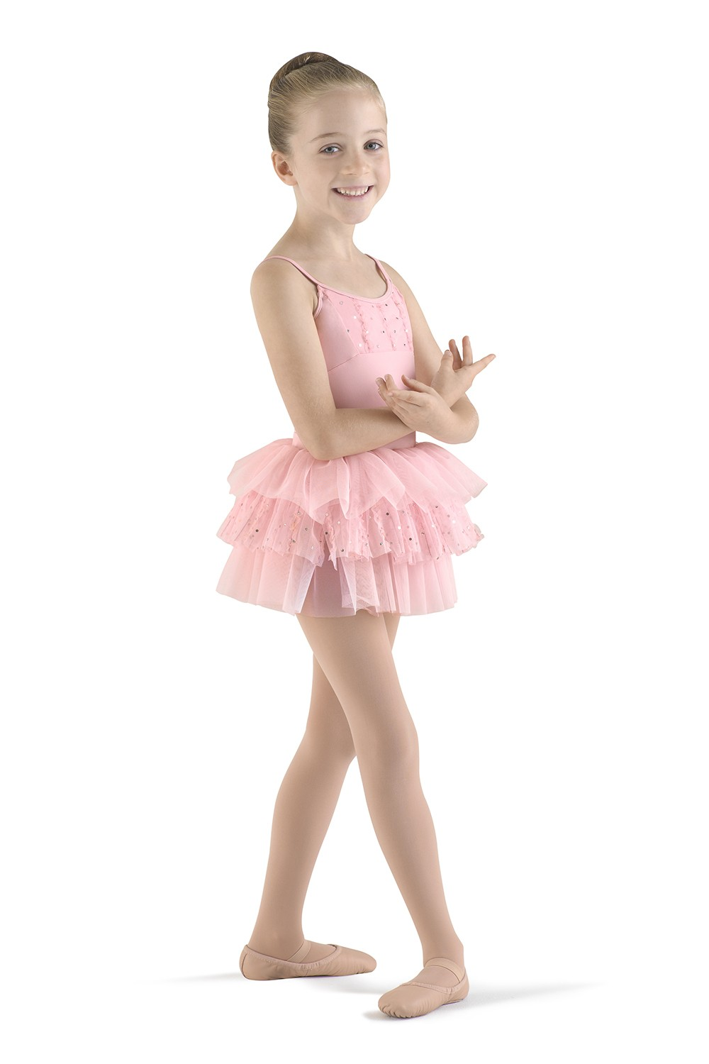 Frill Front Camisole Leotard Children's Dance Leotards