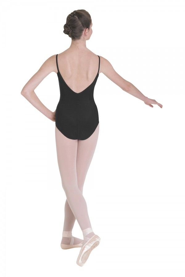 image - Pinch Front Camisole Leotard Women's Dance Leotards