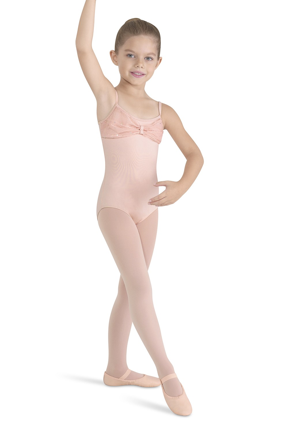 Bow Front And Back Camisole Children's Dance Leotards