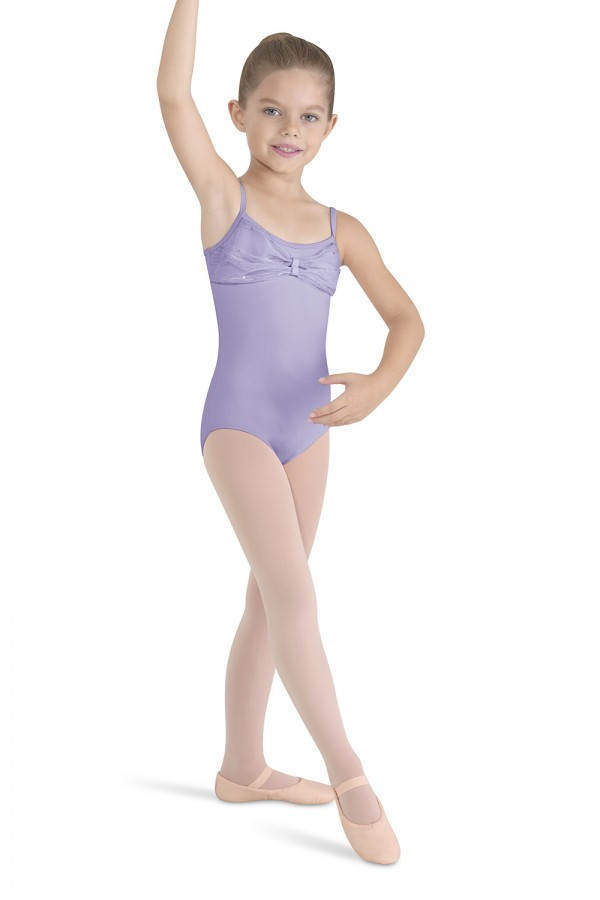 image - Bow Front And Back Camisole Children's Dance Leotards