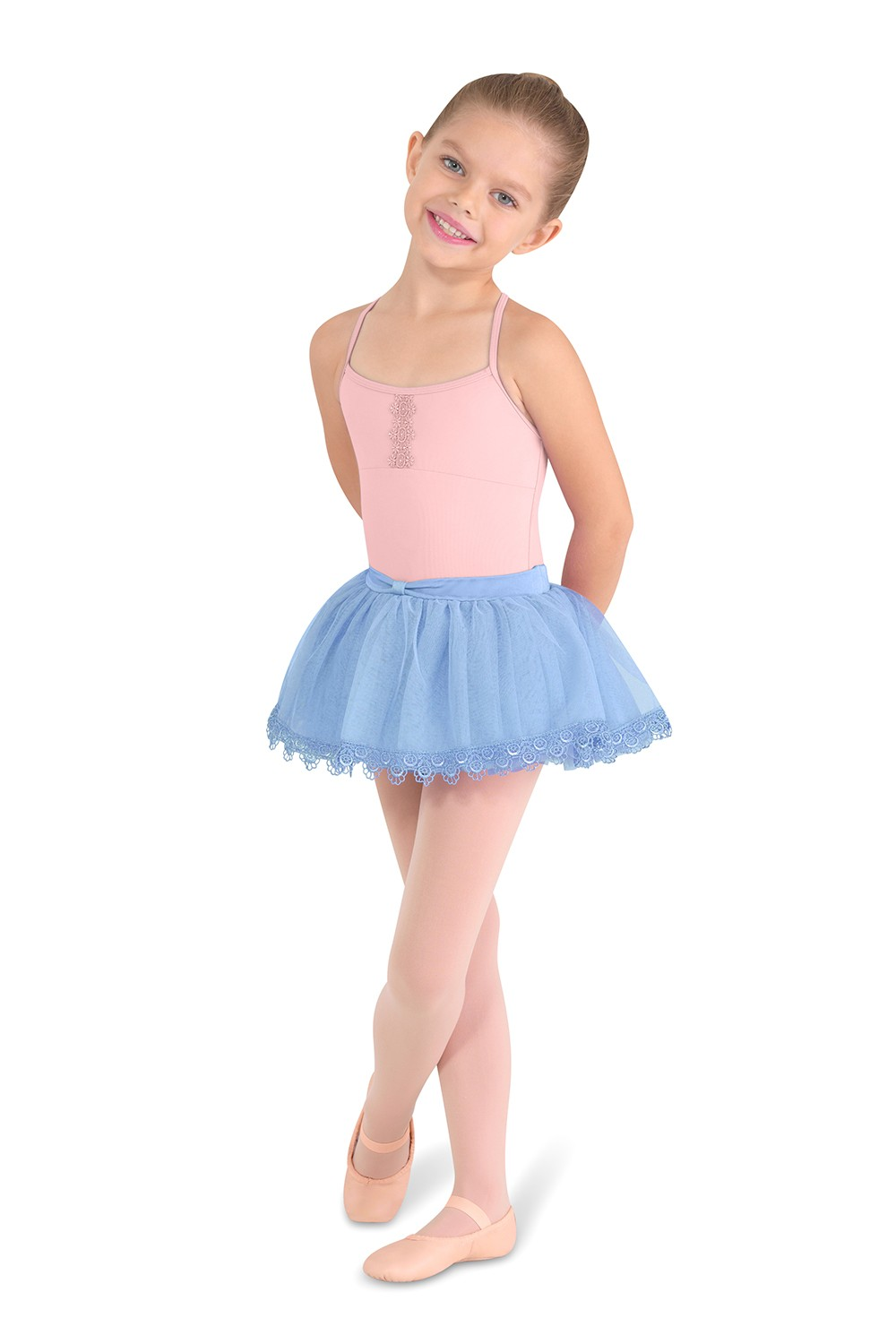 X Back Camisole Children's Dance Leotards
