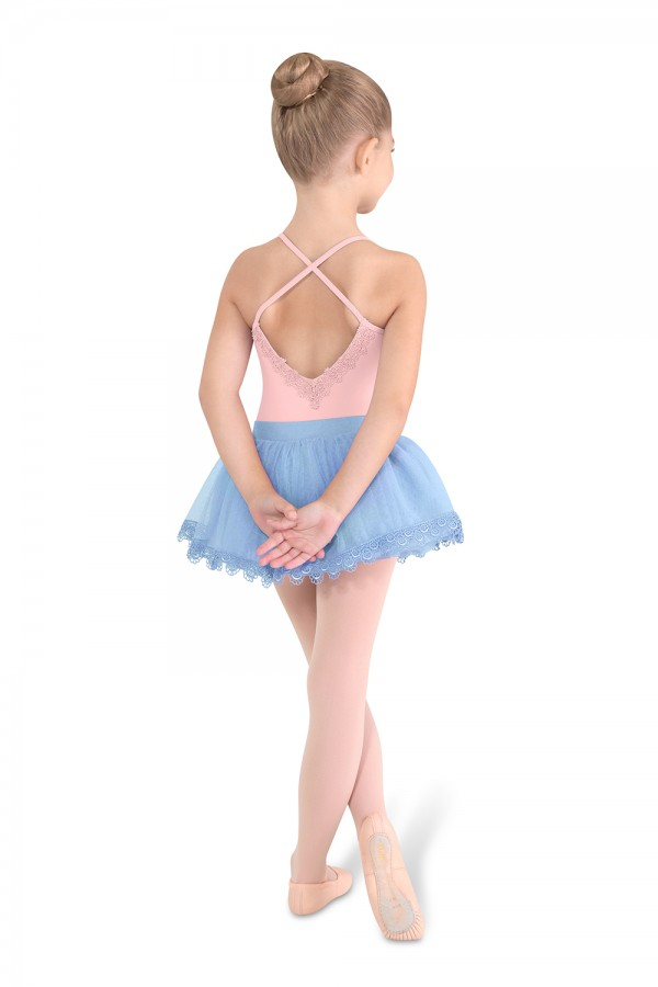 image - X Back Camisole Leotard Children's Dance Leotards
